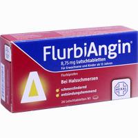 Abbildung von Flurbiangin 8.75mg Lutschtabletten  24 Stück