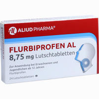 Abbildung von Flurbiprofen Al 8.75 Mg Lutschtabletten  24 Stück