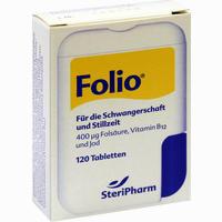 Folio + B12  Tabletten SteriPharm Pharmazeutische Produkte 120 ST