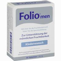 Abbildung von Folio Men Tabletten 30 Stück