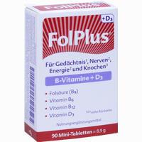 Abbildung von Folplus + D3 Tabletten 90 Stück