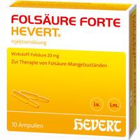 Folsaeure Forte Hevert  Ampullen 10X2 ml