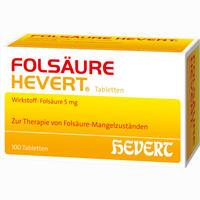 Folsäure Hevert  Tabletten 100 Stück