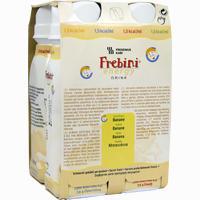 Frebini Energy Drink Banane Trinkflasche  Fluid Fresenius kabi 4X200 ml