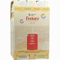 Frebini Energy Drink Erdbeere Trinkflasche  Fluid Fresenius kabi 4X200 ml