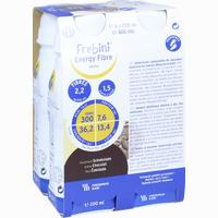 Frebini Energy Fibre Drink Kakao Trinkflasche  Fluid 4X200 ml