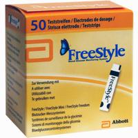 Abbildung von Freestyle Teststreifen  Abbott diabetes care 50 Stück
