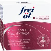 Abbildung von Frei Öl Anti Age Hyaluron Lift Nachtpflege Nachtcreme 50 ml