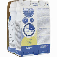 Fresubin 2 Kcal Drink Vanille Trinkflasche  Lösung 4X200 ml
