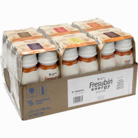 Fresubin Energy Drink Mischkarton Trinkflasche  Lösung Fresenius kabi 6X4X200 ml