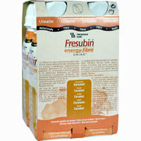 Fresubin Energy Fibre Drink Karamell Trinkflasche  Lösung 4X200 ml