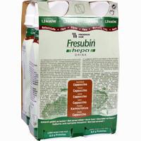 Fresubin Hepa Drink Cappucino Trinkflasche  Lösung 4X200 ml