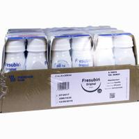 Fresubin Original Drink Mischkarton Trinkflasche  Lösung 24X200 ml