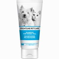 Abbildung von Frontline Pet Care Shampoo für Weißes Fell  200 ml