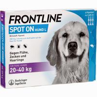 Frontline Spot On H 40 Vet. Loesung 6 ST