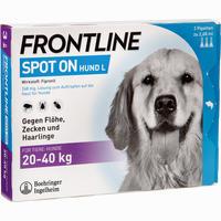 Frontline Spot On Hund 40 Vet. Lösung 3 ST