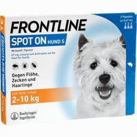 Abbildung von Frontline Spot On Hund S Vet. Lösung  3 Stück