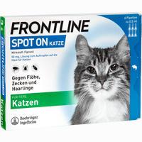 Frontline Spot On Katze Vet. Lösung 6 ST