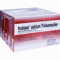 Frubiase Calcium T  Trinkampullen 5X20 Stück