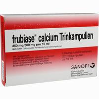 Abbildung von Frubiase Calcium Trinkampullen  20 Stück