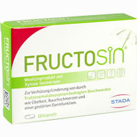 Abbildung von Fructosin Kapseln 10 Stück