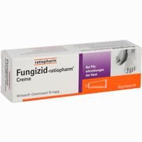 Abbildung von Fungizid- Ratiopharm Creme  20 g