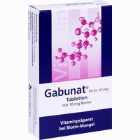 Abbildung von Gabunat Forte 10mg Tabletten 30 Stück