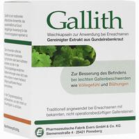 Abbildung von Gallith Kapseln 100 Stück