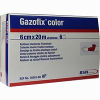 Gazofix Color Pink 20mx6cm  Binde 6 Stück