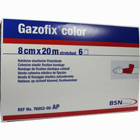 Gazofix Color Pink 20mx8cm  Binde 6 Stück