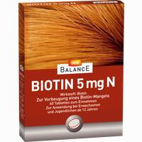 Gehe Balance Biotin 5mg N  Tabletten 60 Stück