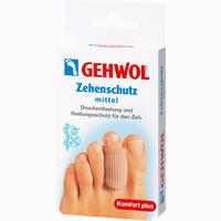Gehwol Polymer-Gel Zehenschutz Mittel 2 Stück