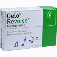 Abbildung von Gelorevoice Halstabletten Cassis- Menthol Lutschtabletten 60 Stück