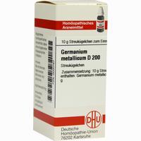 Germanium Metallicum D200  Globuli 10 g