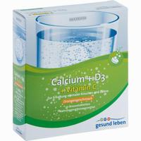 Gesund Leben Calcium + D3 + Vitamin C Brausetabl  Brausetabletten 3X10 Stück
