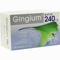 Gingium Extra 240mg Filmtabletten   120 Stück