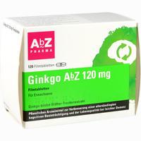 Abbildung von Ginkgo Abz 120 Mg Filmtabletten  120 Stück