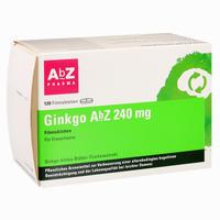 Abbildung von Ginkgo Abz 240 Mg Filmtabletten  120 Stück