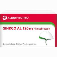 Ginkgo Al 120 Mg Filmtabletten   120 Stück