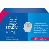 Ginkgo Stada 120mg Fta  Filmtabletten 60 Stück