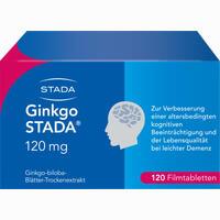 Ginkgo Stada 120mg Fta  Filmtabletten 120 Stück