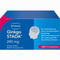 Ginkgo Stada 240mg Fta  Filmtabletten 120 Stück