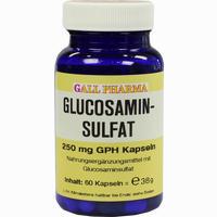 Glucosaminsulfat Kapseln 250mg   60 ST