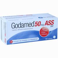 Abbildung von Godamed 50mg Tah Tabletten 100 Stück