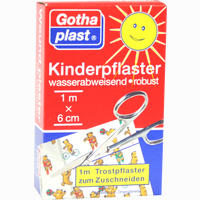 Gothaplast Kinderpflaster 1mx6cm   1 Stück