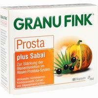 Abbildung von Granu Fink Prosta Plus Sabal Kapseln 60 Stück