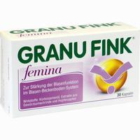Abbildung von Granufink Femina Kapseln 30 Stück