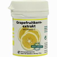 Grapefruitkernextrakt Tabletten  100 Stück