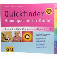 Gu Homoeopathie Quickfinder Für Kinder 1 Stück