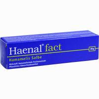 Abbildung von Haenal Fact Hamamelis Salbe  30 g